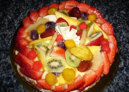 Nos tartes aux fruits
